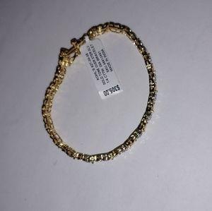 Kohls Jewelry - 1/4 Gold Plated Bracelet